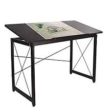 Elevens Drawing Desk Adjustable, Large Drafting Table Computer Desk Wood  Surface For Drawing, Painting