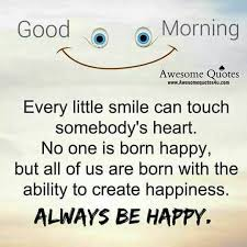 Awesome Quotes On Good Morning