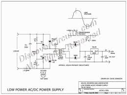 circuit miniature isolated ac dc power supply circuits circuit low power ac dc power supply designed by david a johnson p e