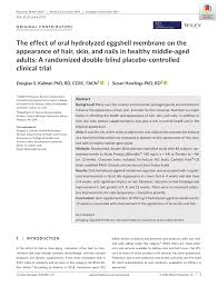 hydrolyzed eggs membrane