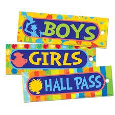 Dr Seuss Spot On Seuss Hall Passes Eu 642014 Hall Passes