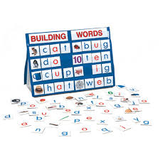 Table Top Pocket Chart Sets Building Words