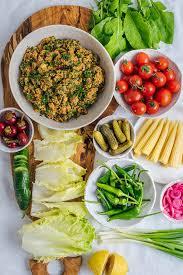 turkish bulgur salad kisir give recipe