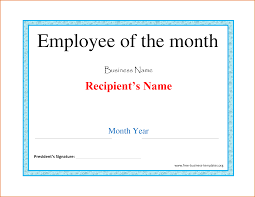 employee of the month certificate template fillable gift 7 employee of the month certificate template job resumes word employee of the month certificate template