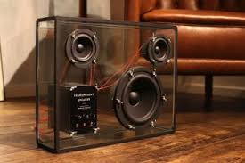Transparent Speakers On Kickstarter  Do Want