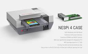 RETROFLAG NESPi 4 CASE, Raspberry Pi 4 Case ... - Amazon.com