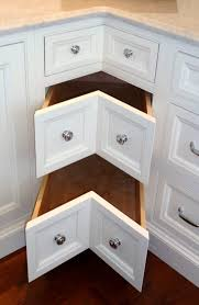 large footprint and opening clearance requirements it needs to be incorporated into a new kitchen remodel or renovation when planning corner drawers