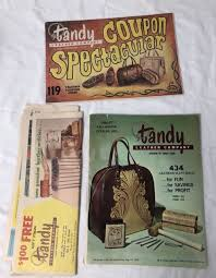 tandy leather co leathercraft ideas supplies catalog 1960 s vintage lot of 3