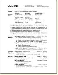 computer programmer resume example resume examples resume and programmer resume sample game programmer resume