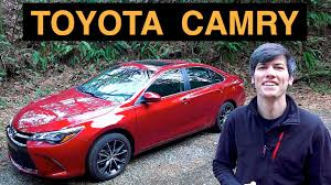 2015 Toyota Camry V6 - Review & Test Drive - YouTube