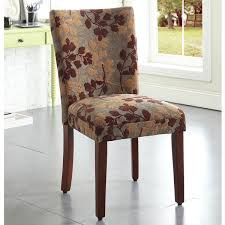 Patterned Dining Chairs Fascinating Shop HomePop Classic Sage Leaf Pattern Fabric Dining Chair On Sale