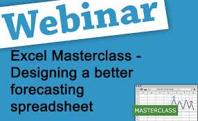 Forecasting Spreadsheet Recorded Webinar Designing A Better Forecasting Spreadsheet