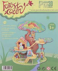 <b>Robotime</b> 3D пазл Дом на дереве — купить в интернет-магазине ...