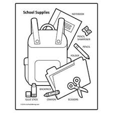 Your child will have a blast letting their creativity flow while filling in one of our printable coloring pages. School Supplies Coloring Page By Youthstrong Teachers Pay Teachers
