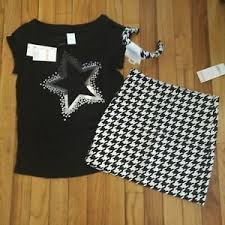 Gymboree Shoe Size Chart Inches Details About Nwt Gymboree Girls Outlet Sequin Top Size 10 Skirt Size 8 Headband Read