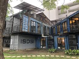 Shipping container office building Double Height This Shipping Container Office Building Optampro This Shipping Container Office Building Zerowaste
