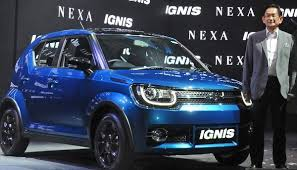 new release of maruti carMaruti Suzuki launches Ignis promises 15 new models by 2020