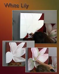 how to paint a lily painting flowers acrylic