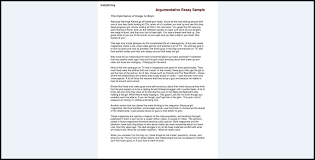 Argumentative Ay Examples Persuasive 5th Grade Pdf Outline