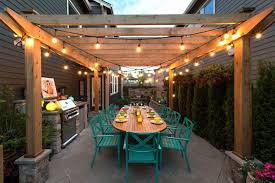 stunning how to hang string on covered patio best of the outdoor pict beautifying your using