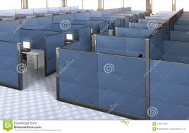 office with cubicles. Interior Of An Empty Office With Cubicles. Cubicles