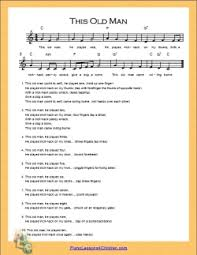 In this tutorial, you will learn how to play the classic song, piano man by billy joel on piano and keyboard. This Old Man Lyrics Videos Free Sheet Music For Piano