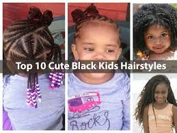 Hairstyles For Little Kids Top 10 Cute Black Kids Hairstyles Styles Little Girls Will Love