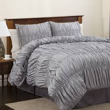 comforter sets king with beige rug and beige paint walls also white curtains for modern bedroom