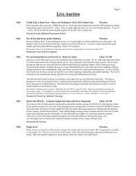 Live Auction Lake Highland Preparatory School