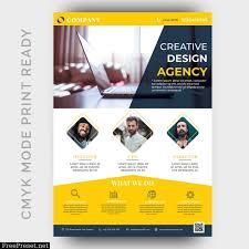 business flyer design templates modern creative agency business flyer design template 2742489