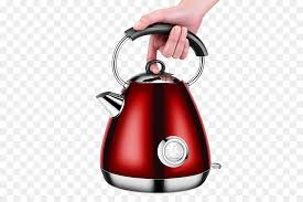 electric kettle electric heating kitchen stove portable red electric kettle
