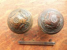 antique door knobs for sale. Unique For These Handsome Antique Doorknobs Are Bronze And Have A Rich Patina Made By  Sargent Around 1894 They Were Simply Called  Intended Antique Door Knobs For Sale S