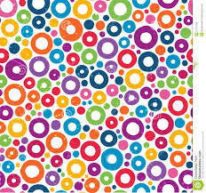 Colorful Patterns Awesome Colorful Seamless Pattern With Hand Drawn Circles Stock Vector