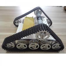 tank car chassis crawler metal track
