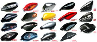 motorcycle mirror com by cyccon sport collection of mirrors