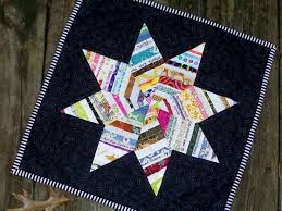 75 best Selvage and scrap projects images on Pinterest | Bags, Box ... & SELVAGE STAR Mini Quilt Made to Order Wonderful Gift for the Fabric Lover  Made with Fabric Selvages Recycled trash to treasure Adamdwight.com