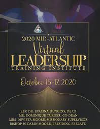 2020 Mid-Atlantic Virtual Leadership Training Institute Program by  Baltimore District AME Zion Church - issuu