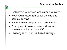 presentation survey examples agricultural census sample surveys of u s agriculture ppt video