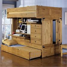 all in one storage. Modren One Powell Rustica All In One Full Loft Bed And In Storage O