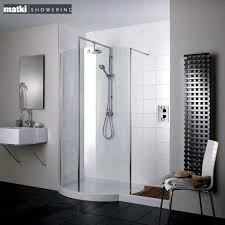 Exellent Curved Shower Enclosures Uk Matki Original Walkin Recess Intended Design Decorating