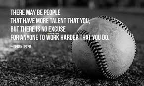 Baseball Quote Magnificent Best In Life Baseball Quote About Nothing To Excuse Golfian
