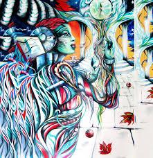 3d art canvas painting