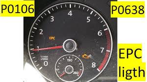 Volkswagen Passat Epc Warning Light Epc Light Vw Passat Throttle Body Replacement Epc P0106 P0638 Errors Passat Jetta Vw 2 5 L Engine