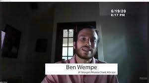 Kyle Peace and Progress Summit - JP Morgan Advisor, Ben Wempe ...