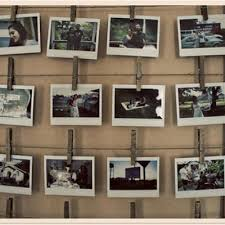 Rustic Frame Photo Display BUT do this in an antique frame (open)