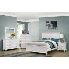 full size bedroom sets white. Simmons Casegoods Cape Cod Collection 3-Piece Queen/ King Bedroom Set Full Size Sets White