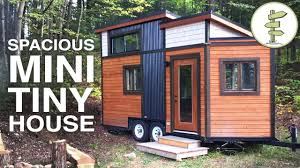 SMALLEST TINY HOUSE with All the Comforts of Home - Full Tour - YouTube