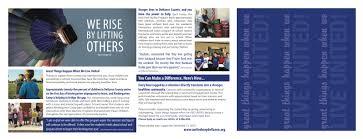 Campaign Brochure United Way Campaign Brochure