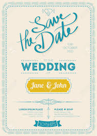 Vintage Wedding Invitation Card A5 Size Frame Layout Template