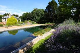 Swimming Pool:Simply Natural Swimming Pool With Stone Deck Idea Nature  Garden Pools And Swimming